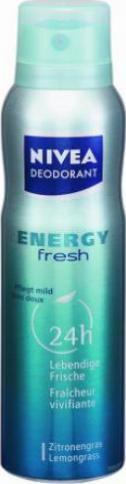 nivea energy fresh deodorant spray 150ml g nstig kaufen. Black Bedroom Furniture Sets. Home Design Ideas