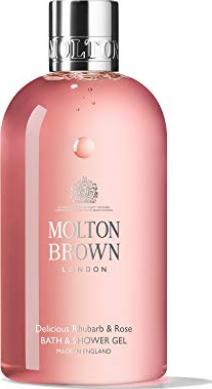 Molton Brown Delicious Rhubarb and Rose Bath and S